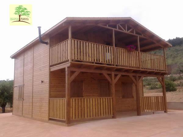 Naturfusta fabricaci n de casas y pergolas de madera en alicante y murcia - Casas de madera crevillente ...
